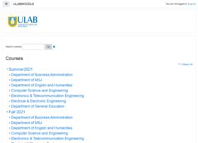 Moodle.ulab.edu.bd thumbnail