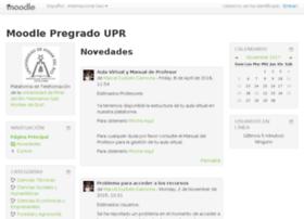 Moodle.upr.edu.cu thumbnail