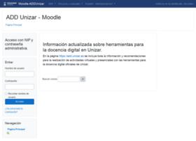 Moodle2.unizar.es thumbnail