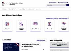 Morbihan.gouv.fr thumbnail