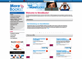Morebooks.de thumbnail