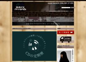Morerecords.jp thumbnail