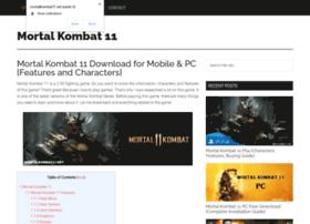 Mortalkombat11.net thumbnail