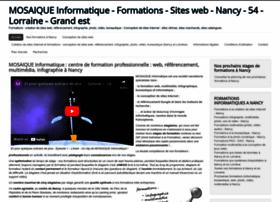 Mosaique-info.fr thumbnail