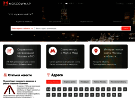 Moscowmap.ru thumbnail
