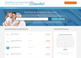 Mostrecommendeddentist.co.uk thumbnail