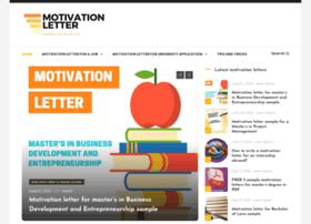 Motivation-letter.com thumbnail