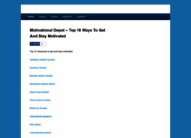 Motivational-depot.com thumbnail