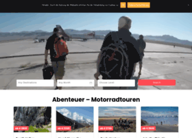 Motorcycleexpeditions.de thumbnail
