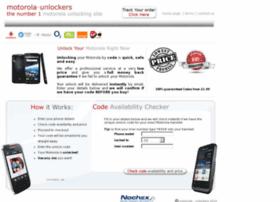 motorola v3 unlock code