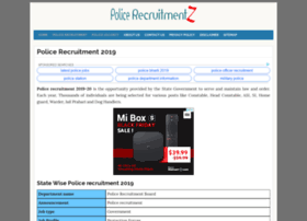 Mp.policerecruitments.in thumbnail