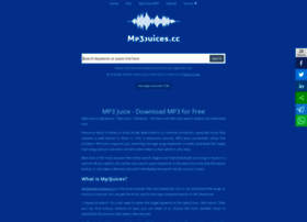mp3juices.cc at WI. MP3Juices - Free MP3 Downloads