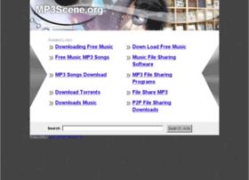 Mp3scene.org thumbnail