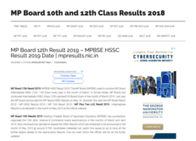 Mpboard12thresult2018.in thumbnail