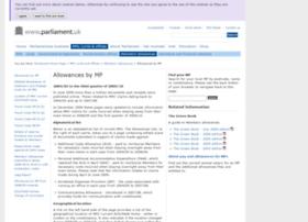 Mpsallowances.parliament.uk thumbnail