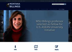 Msubillings.edu thumbnail