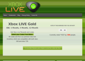 Best website for free xbox live codes 2014