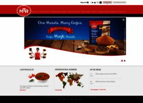 Ajith kumar@mtrfoods com at Website Informer