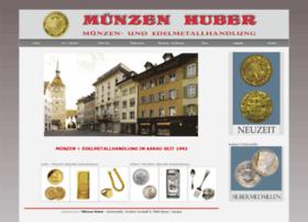 Muenzen-huber.ch thumbnail