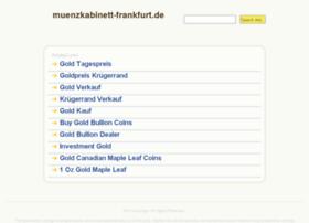Muenzkabinett-frankfurt.de thumbnail
