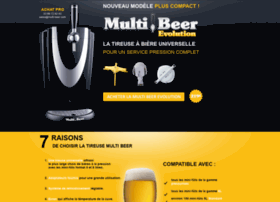 multi at wi multi beer evolution la tireuse bi re universelle la pompe. Black Bedroom Furniture Sets. Home Design Ideas