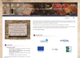 Musee-papeteries-canson-montgolfier.fr thumbnail