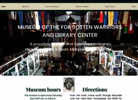Museumoftheforgottenwarriors.org thumbnail