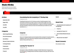 Music-hiroba.info thumbnail