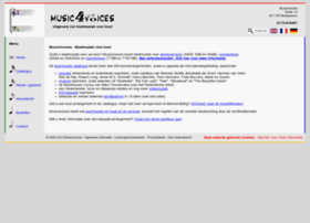 Music4voices.nl thumbnail