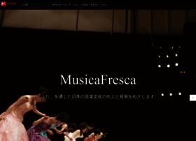 Musicafresca.jp thumbnail