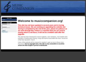 Musiccompanion.org thumbnail