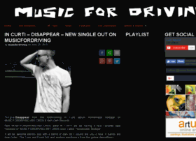 Musicfordriving.com thumbnail