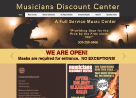 Musiciansdiscountcenter.net thumbnail