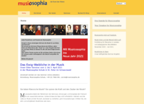 Musicosophia.de thumbnail