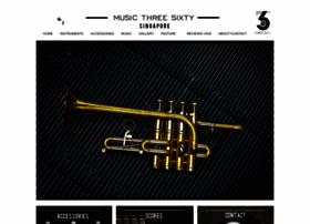Musicthreesixty.com thumbnail