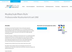 Musikschule-rhein-ruhr.de thumbnail