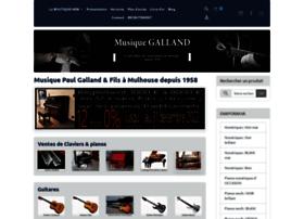 Musique-galland.fr thumbnail