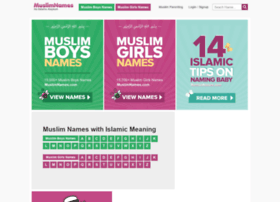 Muslimnames.info thumbnail