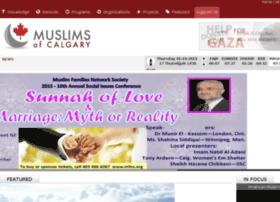 Muslimsofcalgary.ca thumbnail