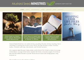 Mustardseedministries.org thumbnail