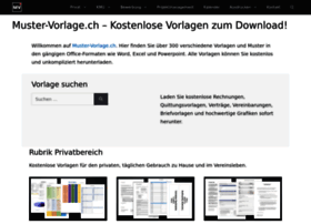 Muster-vorlage.ch thumbnail