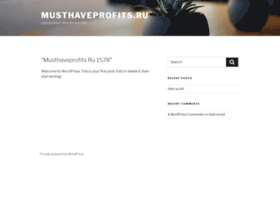 Musthaveprofits.ru thumbnail