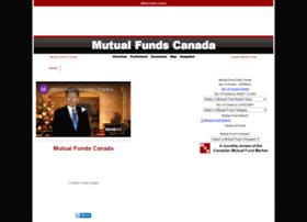 Mutualfundscanada.ca thumbnail