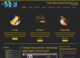 Muzrestor.ru thumbnail
