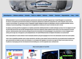 Mvwautotechniek.nl thumbnail