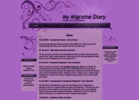 My-migraine-diary.com thumbnail