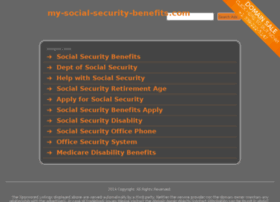 My-social-security-benefits.com thumbnail