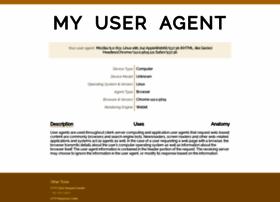 My-user-agent.com thumbnail