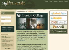 My.prescott.edu thumbnail