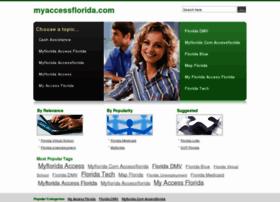 Myaccessflorida.com thumbnail